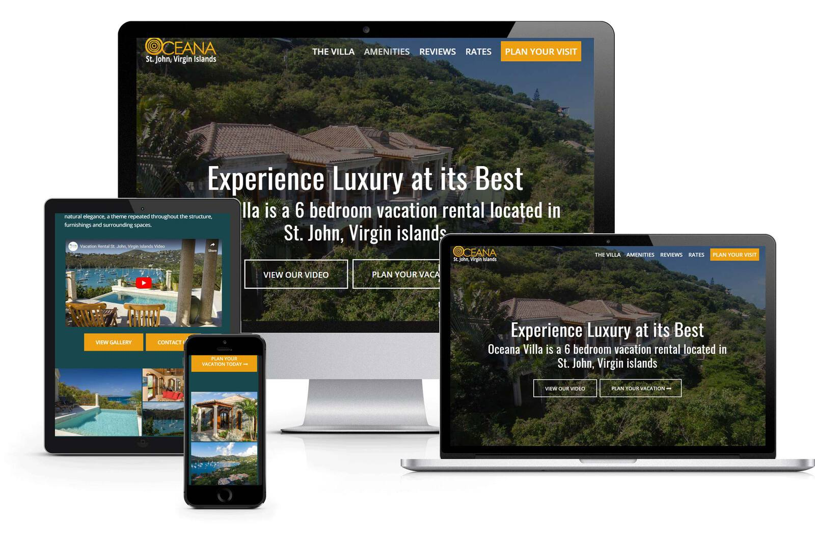 responsive designed website