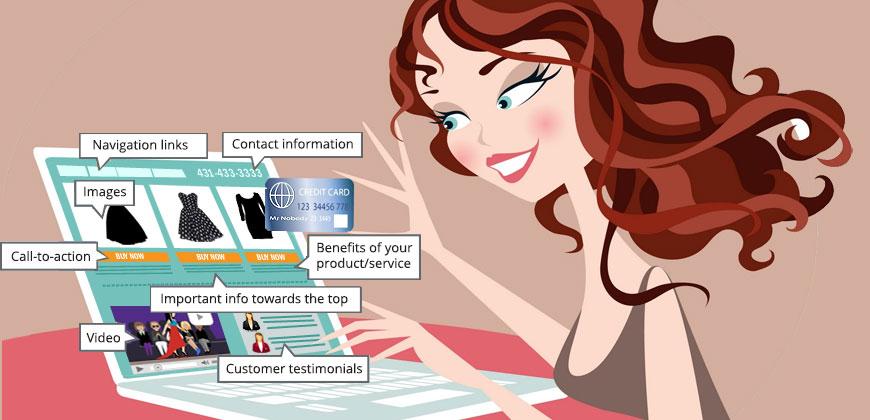 website conversion user interface web development