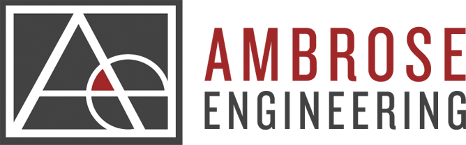 ambrose engineering logo design