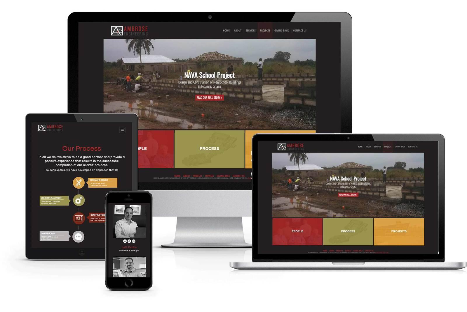 structural engineering website design