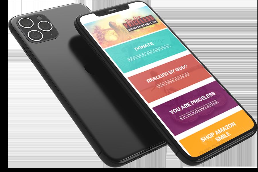 mobile website church