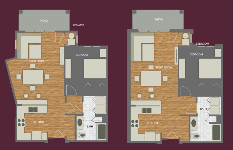 floor plan drawings spero senior living