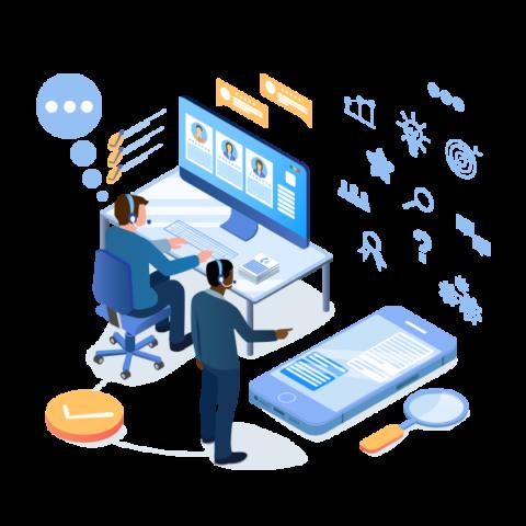 business website support