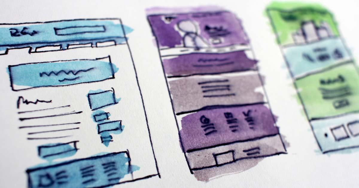 custom web design development