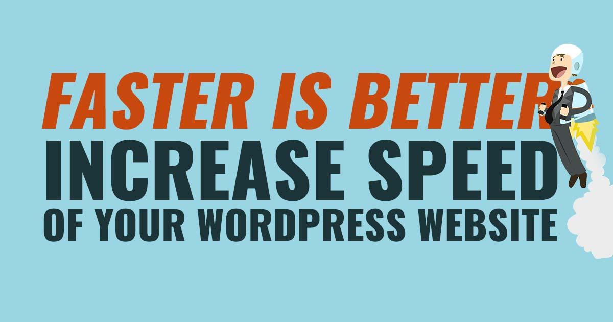 increase speed wordpress website