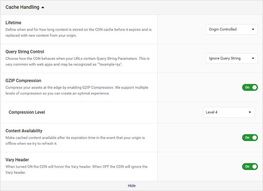 gzip compression wordpress website