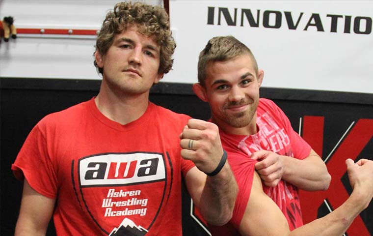 ben askren wrestling website