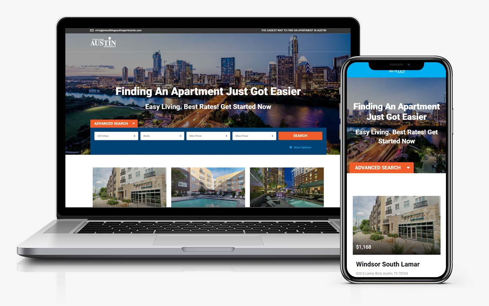 austin apartments real estate website