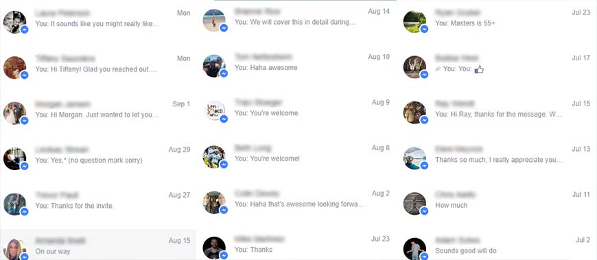 improve conversion facebook gym