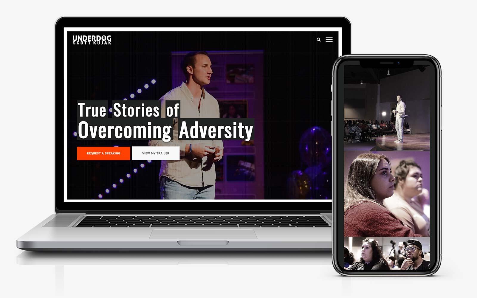 website motivational speaker author