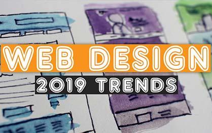 2019 web design trends