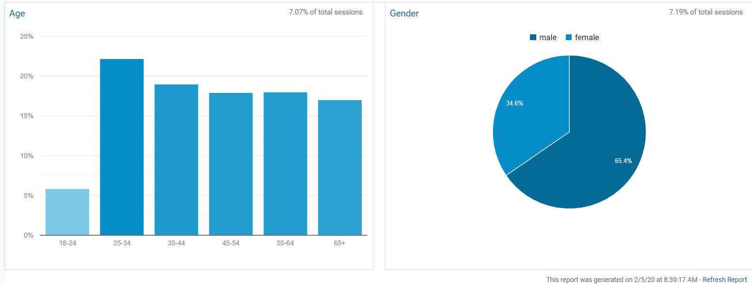 demographics google analytics