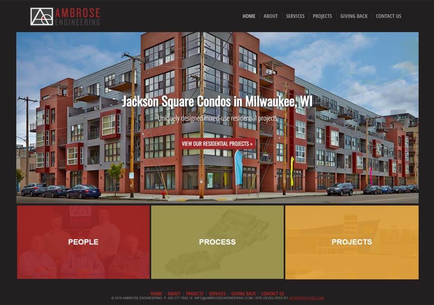 ambrose engineering desktop website