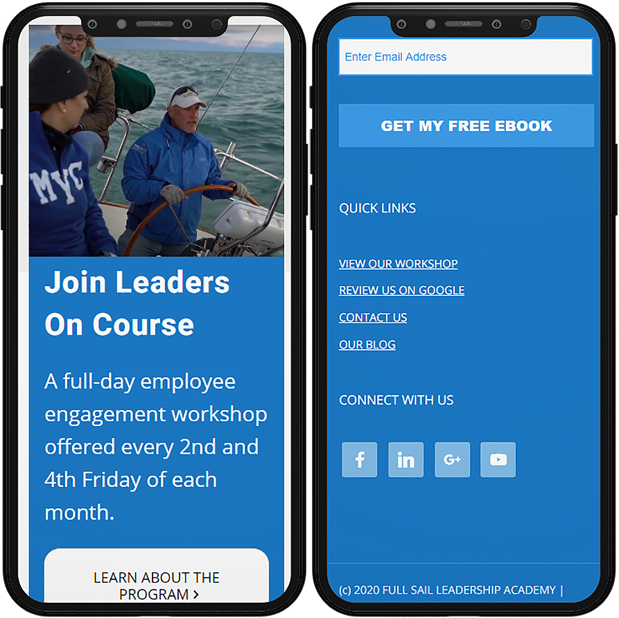 full sail mobile website