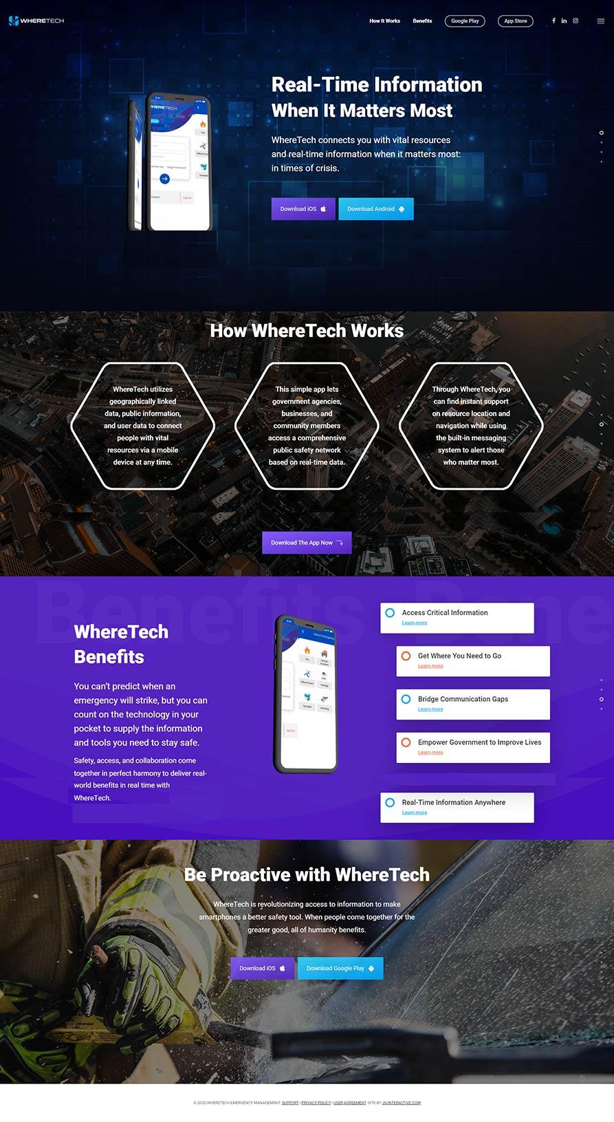 WhereTech Web Design