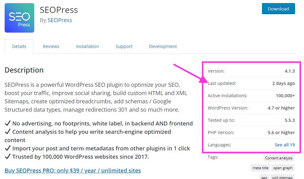seo press wordpress